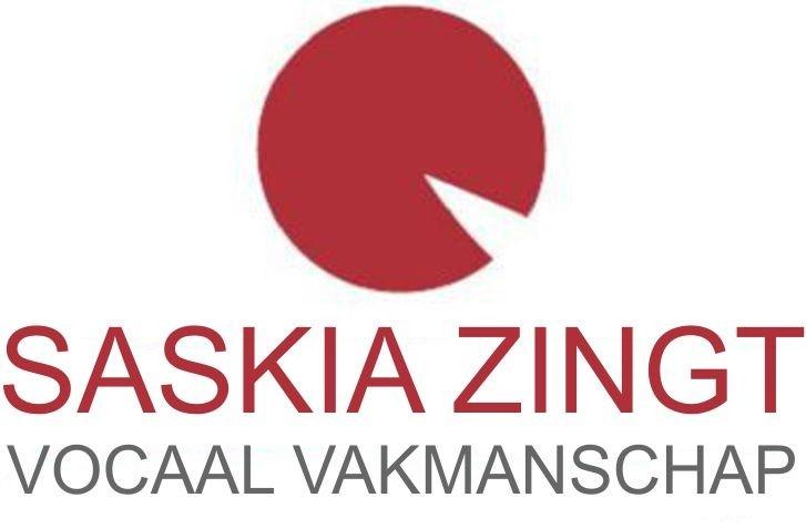 SASKIA ZINGT vocaal vakmanschap logo
